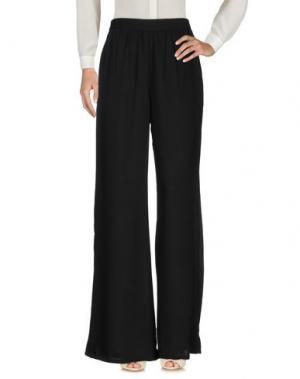 Повседневные брюки COMPAÑIA FANTASTICA. Цвет: черный