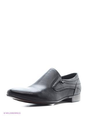 Туфли Cornado. Цвет: черный
