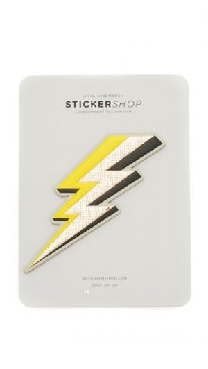 Большой стикер Lightning Bolt Anya Hindmarch