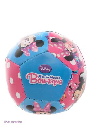 Мяч мягкий Минни John. Цвет: синий, розовый