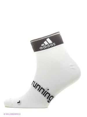 Носки R L Ankle T 2p Adidas. Цвет: серый, белый