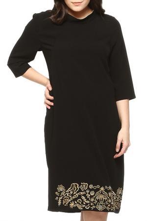 Платье GRAND POMMES. Цвет: черный