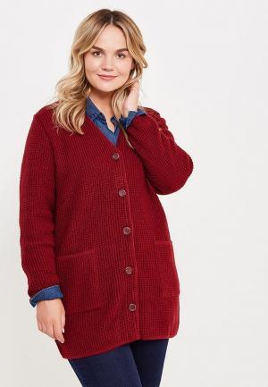 Кардиган Milana Style. Цвет: бордовый