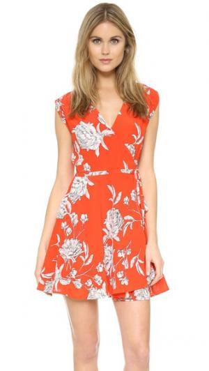 Платье Soho Mixer Yumi Kim. Цвет: красная гвоздика