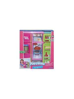 Аналог 21657 Холодильник Keenway. Цвет: розовый