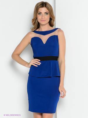 Платье ZAYKINS. Цвет: синий