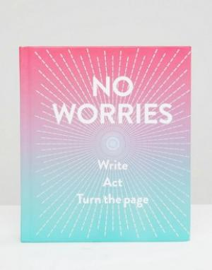 Books Блокнот No Worries. Цвет: мульти