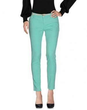 Повседневные брюки JECKERSON. Цвет: светло-зеленый