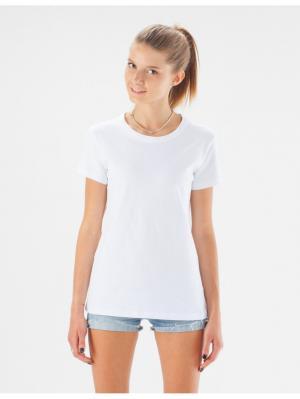 Белая женская футболка Eniland. Цвет: белый