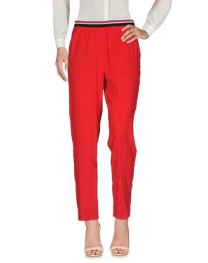 Повседневные брюки .TESSA. Цвет: красный