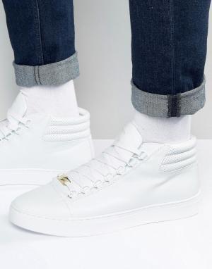 Glorious Gangsta Высокие кроссовки Paris. Цвет: белый