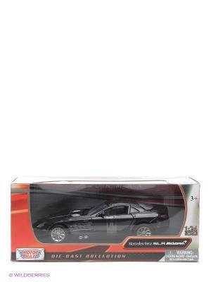 Машинка коллекционная Mercedes Benz SLR McLaren в масштабе 1к24 Motormax. Цвет: черный