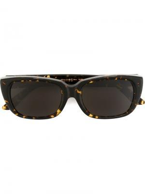 Солнцезащитные очки Lira Maculato Retrosuperfuture. Цвет: коричневый