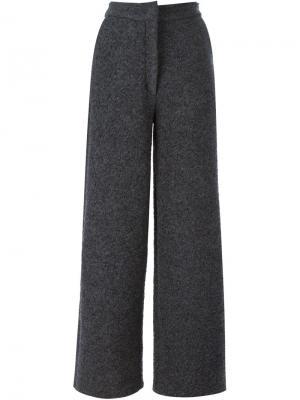 Широкие брюки Charlie May. Цвет: серый