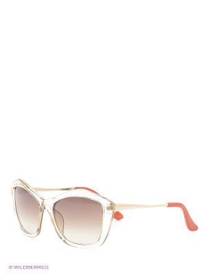 Солнцезащитные очки Vittorio Richi. Цвет: прозрачный, красный, оранжевый