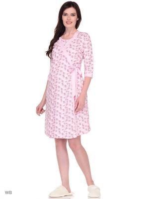 Комплект женский для беременных и кормящих Hunny Mammy. Цвет: малиновый, розовый
