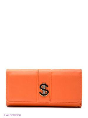 Портмоне Vittorio Richi. Цвет: оранжевый