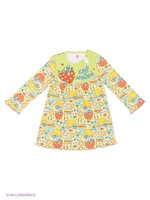 Сорочка ночная Свiтанак. Цвет: желтый, красный
