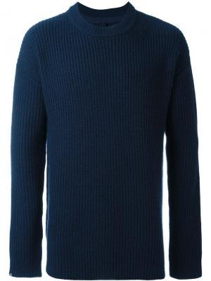 Джемпер No.11 Unisex Extreme Cashmere. Цвет: синий