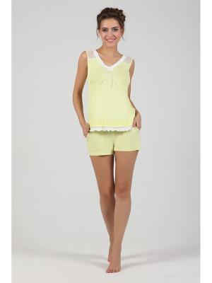 Пижама NicClub. Цвет: желтый