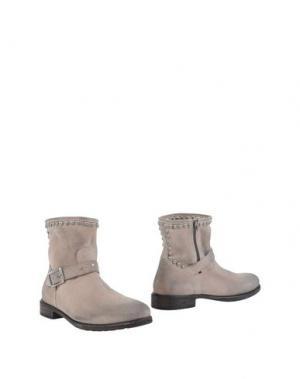Полусапоги и высокие ботинки MR. WOLF. Цвет: бежевый