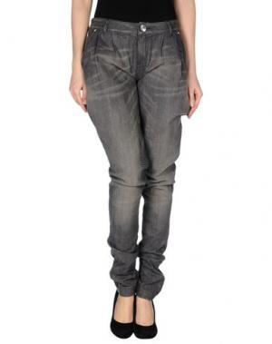 Джинсовые брюки SEVEN7. Цвет: свинцово-серый