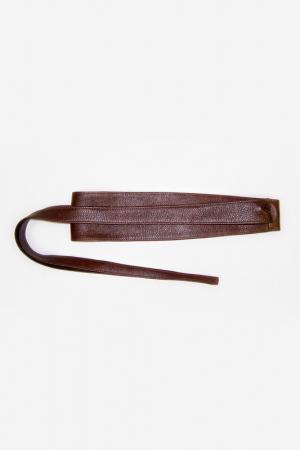 Пояс-кушак ILTANI design. Цвет: коричневый