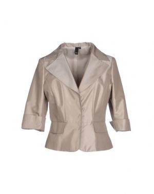 Пиджак NVL. Цвет: серый