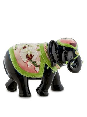 Статуэтка Слон Pavone. Цвет: черный