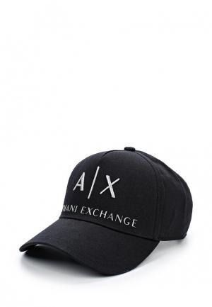Бейсболка Armani Exchange. Цвет: черный