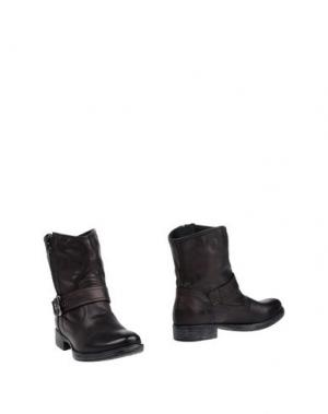 Полусапоги и высокие ботинки NERO GIARDINI. Цвет: темно-коричневый