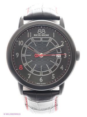 Часы 88RW Double & Origin Rue du Rhone. Цвет: черный