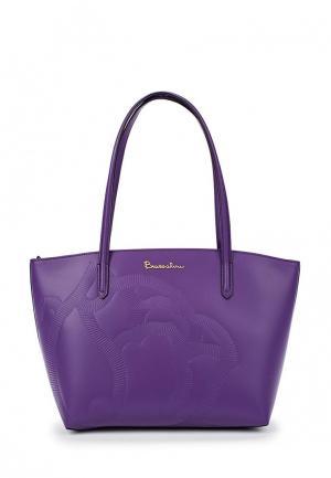 Сумка Braccialini. Цвет: фиолетовый