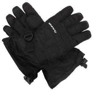 Перчатки сноубордические женские  Capri Glove Black Dakine. Цвет: черный
