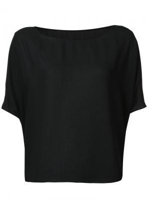 Блузка-кейп Peter Cohen. Цвет: чёрный