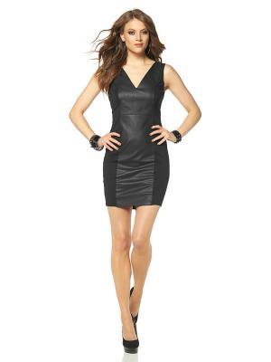 Платье Laura Scott. Цвет: черный