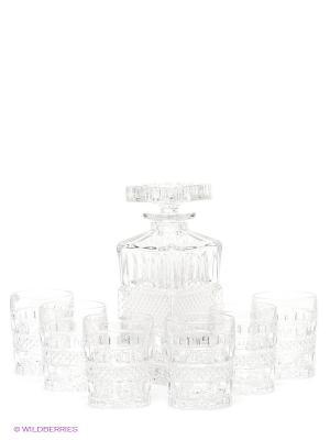 Набор для виски Crystal Bohemia. Цвет: прозрачный