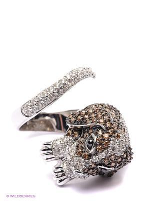 Кольцо Art Silver. Цвет: серебристый, коричневый