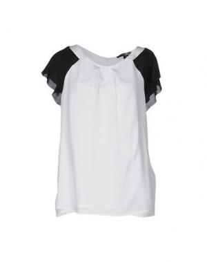 Блузка CHIARA D'ESTE. Цвет: белый