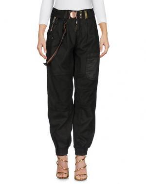Джинсовые брюки HIGH. Цвет: темно-зеленый