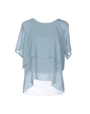 Блузка AXARA PARIS. Цвет: небесно-голубой