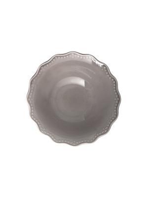 Набор салатников CROWNE H&H. Цвет: серый