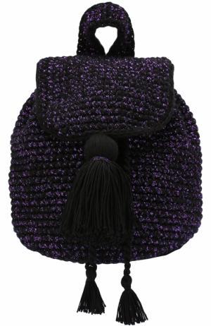 Вязаный рюкзак Cote dAzur 7II. Цвет: черный
