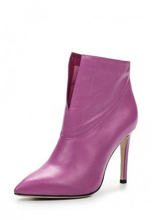 Ботильоны Grand Style. Цвет: фиолетовый