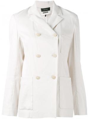 Куртка Nessa Isabel Marant. Цвет: телесный