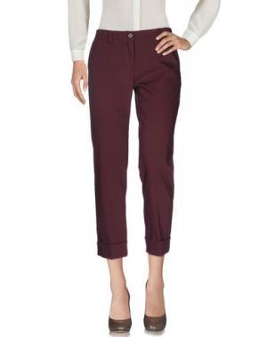 Повседневные брюки KARTIKA. Цвет: баклажанный