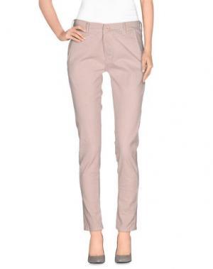 Повседневные брюки NINA New York. Цвет: светло-розовый