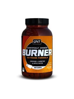 Жиросжигатель Burner Extreme Formula (90 капс) QNT. Цвет: черный, белый, оранжевый