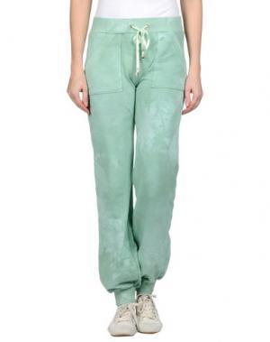 Повседневные брюки MARANI JEANS. Цвет: светло-зеленый