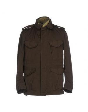 Куртка NEMEN. Цвет: темно-коричневый